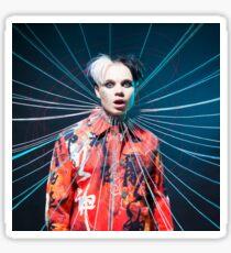 BEXEY : SPOOKY ELECTRIC album cover merch Sticker