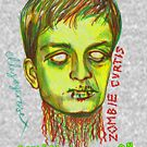 Zombie Curtis by ellejayerose