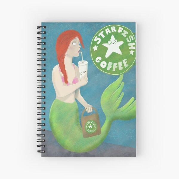 Starfish coffee Spiral Notebook