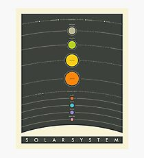 THE SOLAR SYSTEM Fotodruck