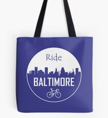 Ride Baltimore Tote Bag