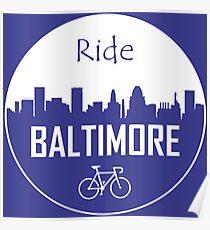 Ride Baltimore Poster