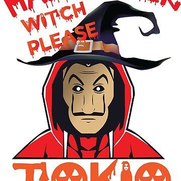 THE CASA OF PAPEL MASK - Halloween 2018 - TOKIO by Theworrior