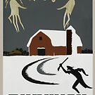 """H.P. Lovecraft Travel Poster: Dunwich (""""The Dunwich Horror"""") by futurilla"""