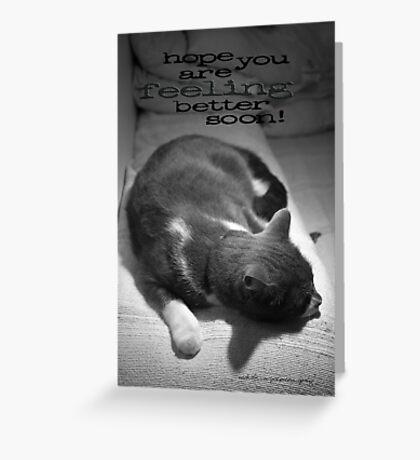 Hope You Are Feeling Better Soon © Vicki Ferrari Greeting Card