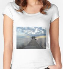 Lake & Sun Women's Fitted Scoop T-Shirt
