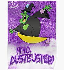 Halloween Poster 2009 - Hi Ho Dustbuster Poster