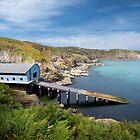 Kilcobben cove Cornwall  by eddiej