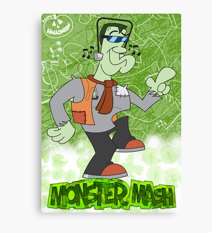 Halloween Poster 2009 - Monster Mash Canvas Print