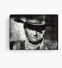 John Wayne, Hollywood Legend Canvas Print