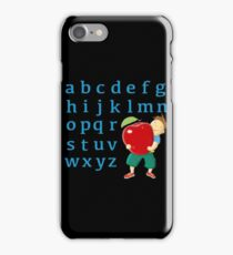 Now I know my abc! iPhone Case/Skin