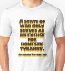Aleksandr Solzhenitsyn Quote Unisex T-Shirt