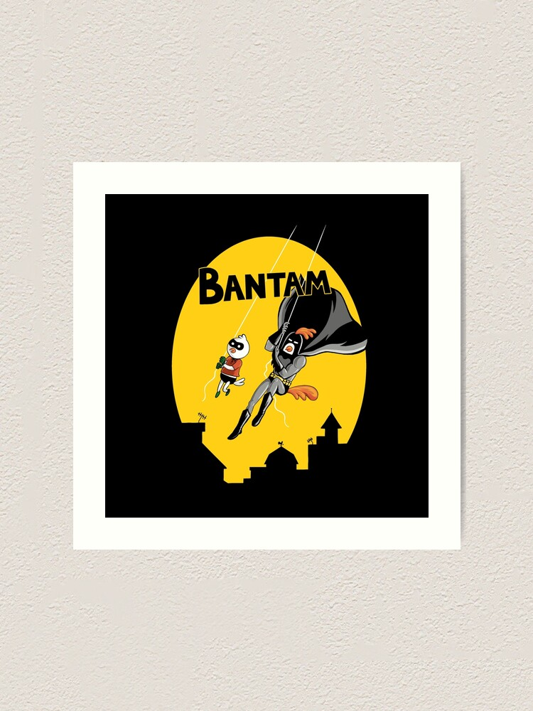 Alternate view of The Adventures of Bantam and Little Pecker Art Print
