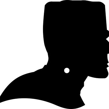 Halloween Frankenstein Head Silhouette by MartinV96