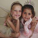 Cinderella & Tinkerbell by Janine Fynn