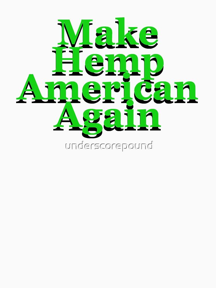 Make Hemp American Again by underscorepound