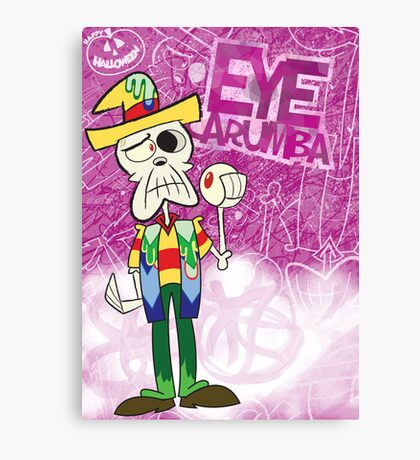 Halloween Poster 2009 - Eye Carumba Canvas Print