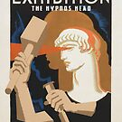 """H.P. Lovecraft Travel Poster: The Hypnos Head (""""Hypnos"""") by futurilla"""