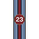 racing stripe .. #23 by badduck09