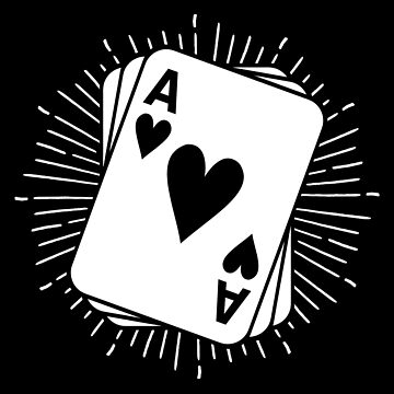 Ace Of Spades Poker T-Shirt & Gift Idea by larry01