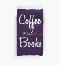 Coffee and books T Shirt Hoodie Duvet Cover