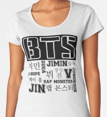 BTS! Women's Premium T-Shirt