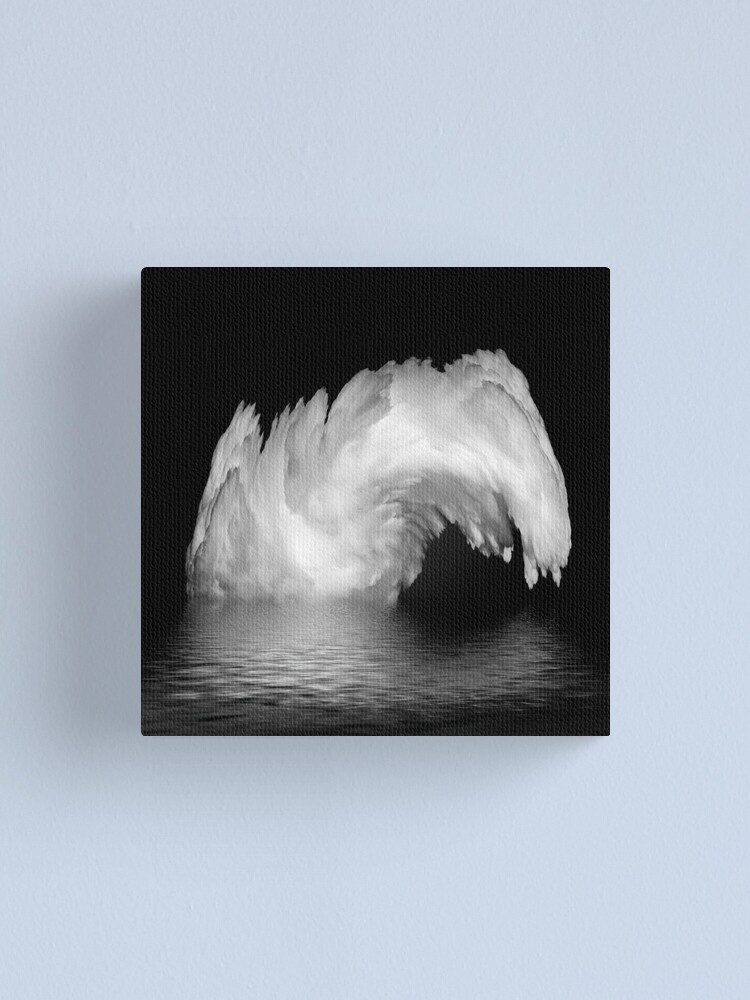Alternate view of fountain? Canvas Print