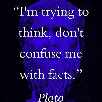 I'm Trying To Think - Plato by CrankyOldDude