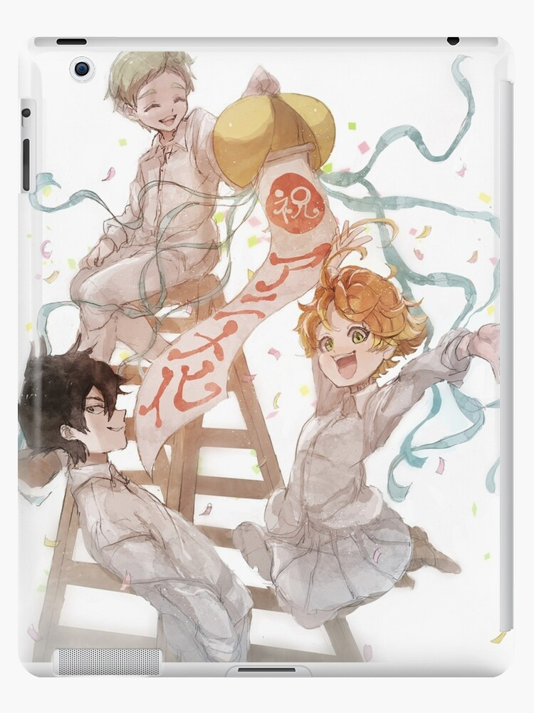 'The Promised Neverland Ray, Emma & Norman' iPad Case/Skin by HHDripp