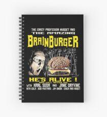 The amazing brainburger Spiral Notebook