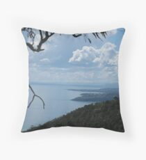 On a Spring Day You Can See Forever Throw Pillow