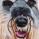 Schnauzer - close up by doggyshop