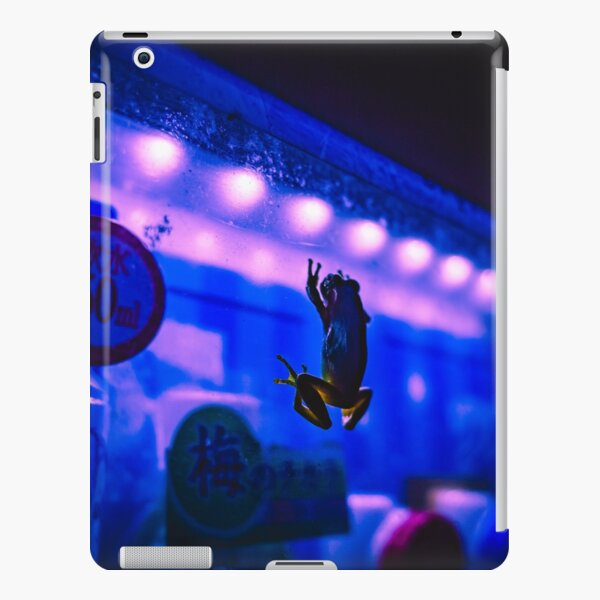 Neon Life - Frog - Vending machine iPad Snap Case
