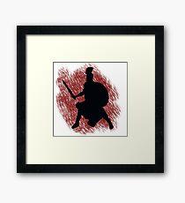 Spartan- Blood River Framed Print