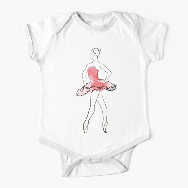 ARA BES QUE Ballet Dancer Infan Short Sleeve Tee Boy Birthday Gift