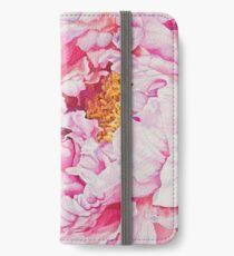 Pink Peony Watercolor iPhone Wallet/Case/Skin