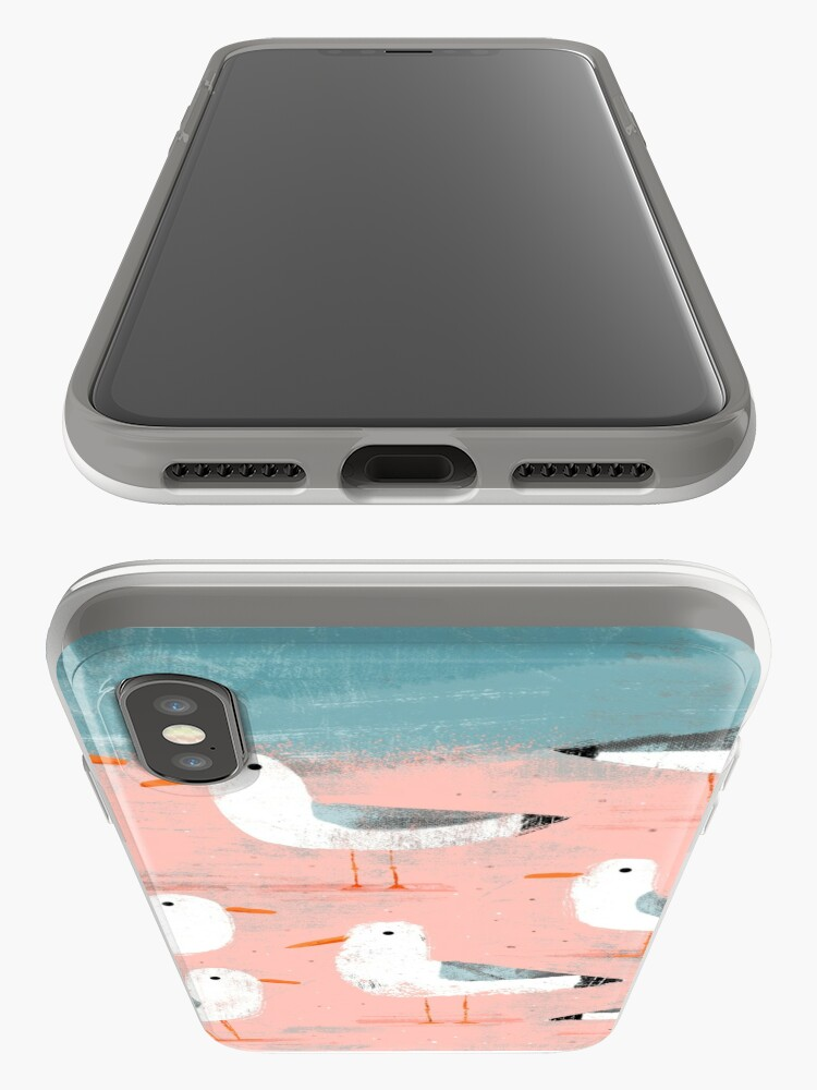 Alternate view of Seagulls on the Shore iPhone Cases & Covers