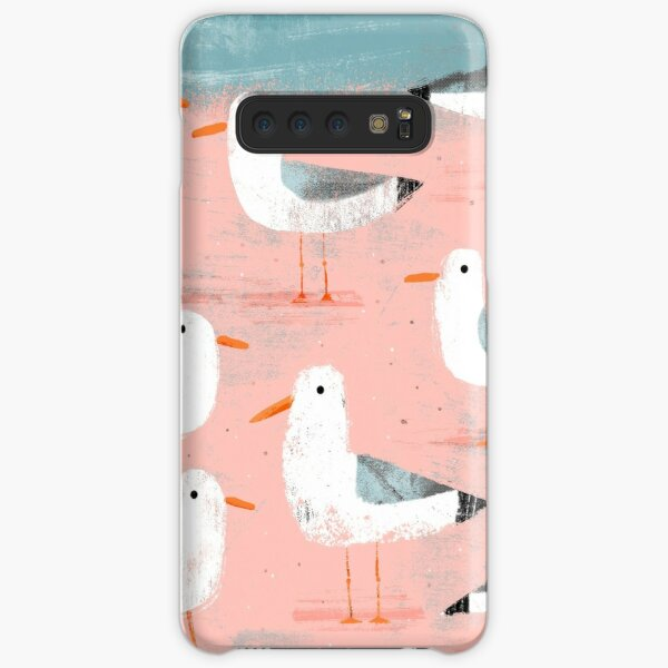 Seagulls on the Shore Samsung Galaxy Snap Case