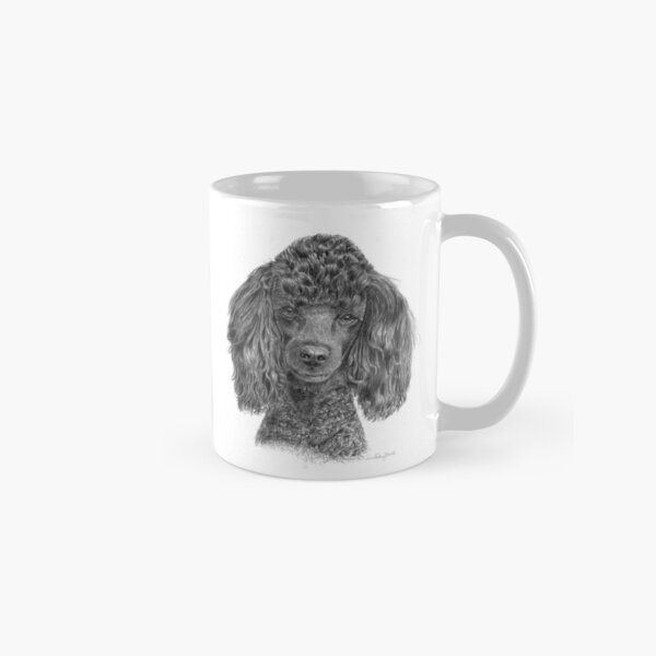 Poodle - miniature - black Classic Mug