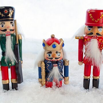 Nutcrackers in the Snow by MarkUK97