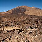 El Teide: Standing Mid Flow by Kasia-D