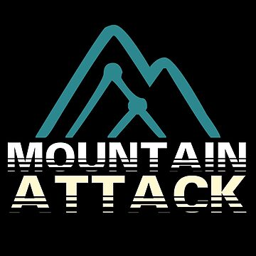 Mountain Attack Saalbach T-Shirt & Gift by larry01