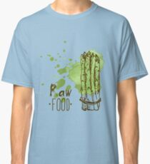 hand drawn vintage illustration of asparagus Classic T-Shirt