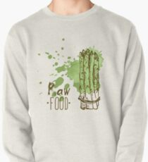 hand drawn vintage illustration of asparagus Pullover