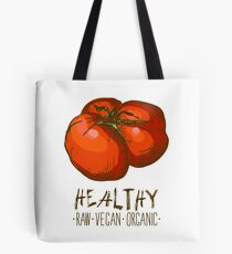 hand drawn vintage illustration of tomato Tote Bag