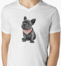 Parlez-vous frenchie V-Neck T-Shirt