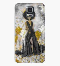 Der Queen Black and Gold Case/Skin for Samsung Galaxy