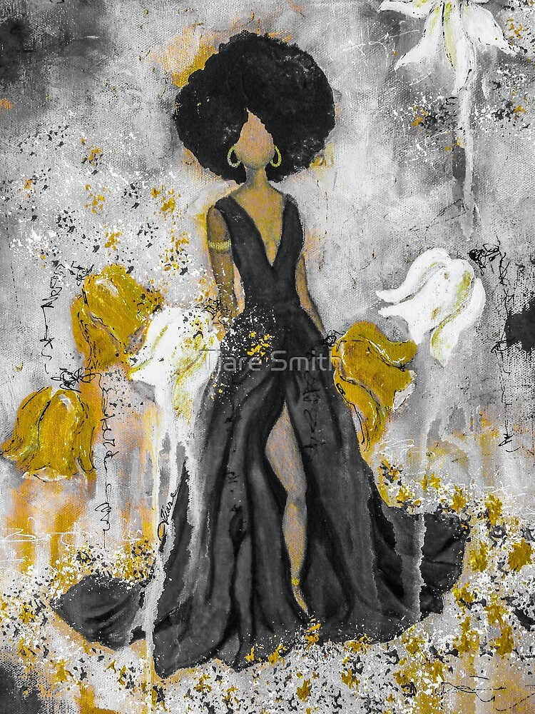 Der Queen Black and Gold by classygirl
