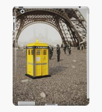 The Yellow Booth at Eiffel Tour! iPad Case/Skin