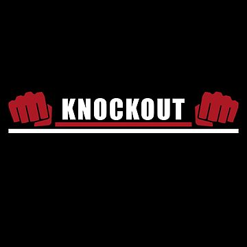 Knock Out Boxing T-Shirt & Gift Idea by larry01
